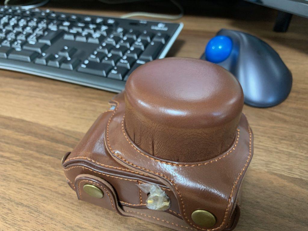 最近購入したカメラケース
