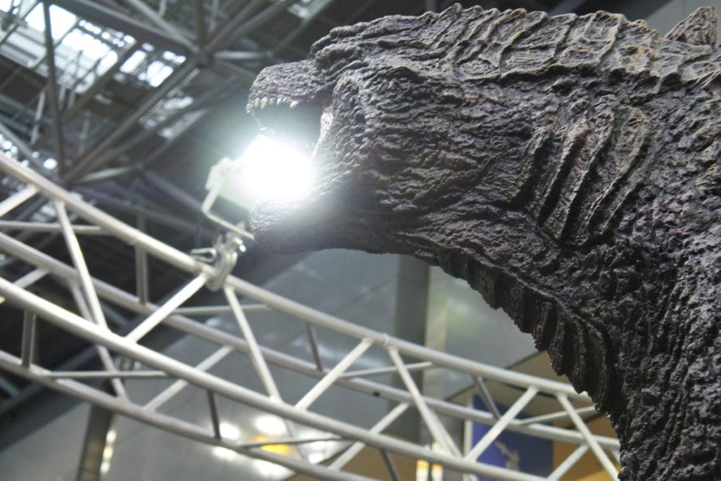 ゴジラが放射能を吐く瞬間のイメージ