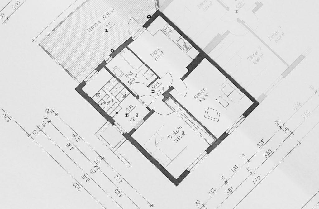 建物の設計図-何事も想像することから始まる