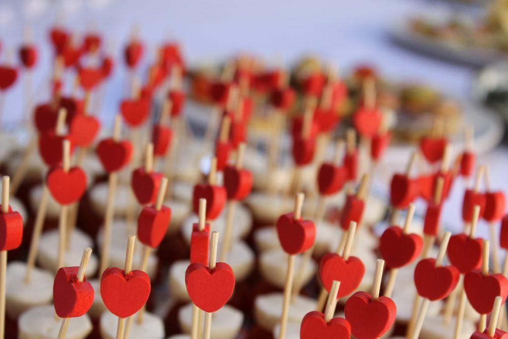 ハートの飾り-恋愛