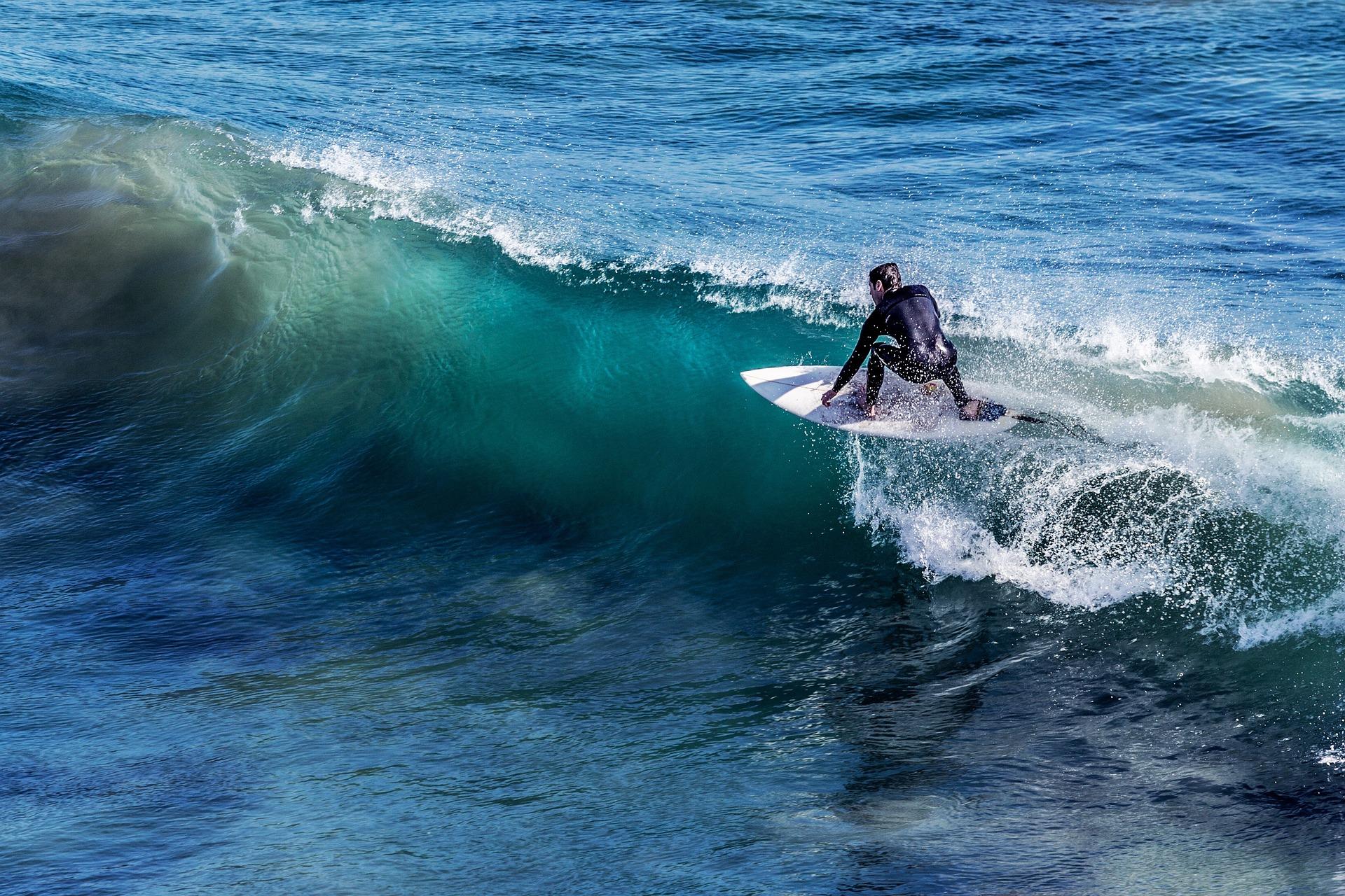 サーフィン-うつの波