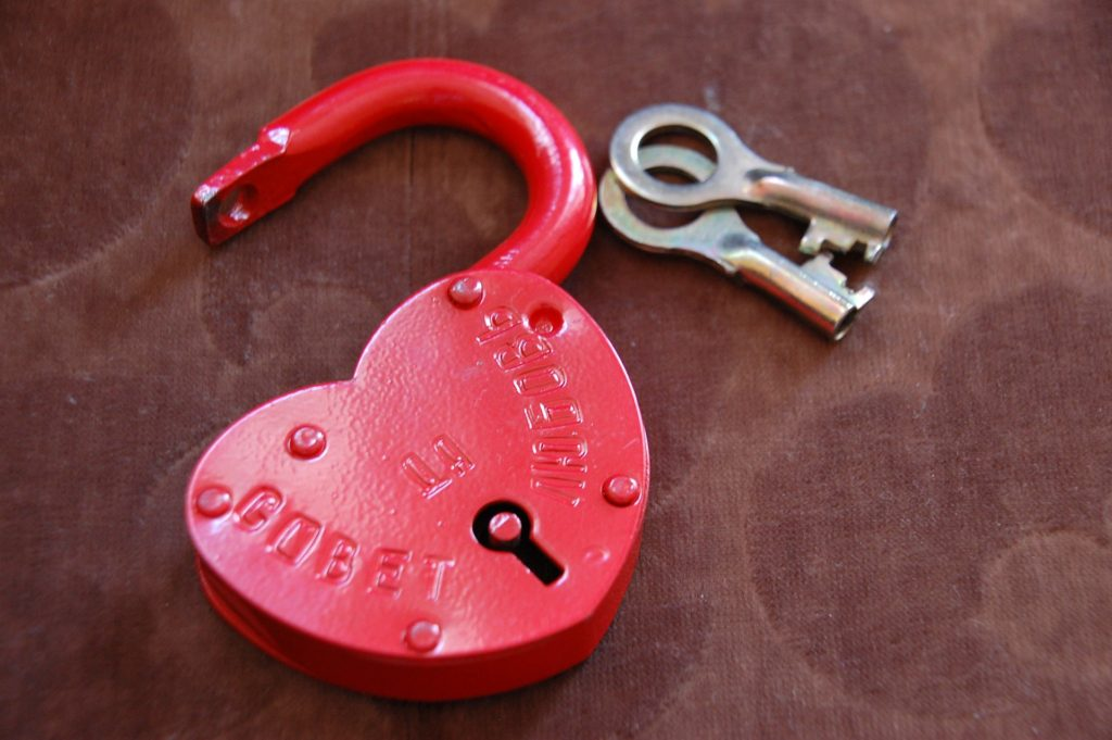 ハートの鍵