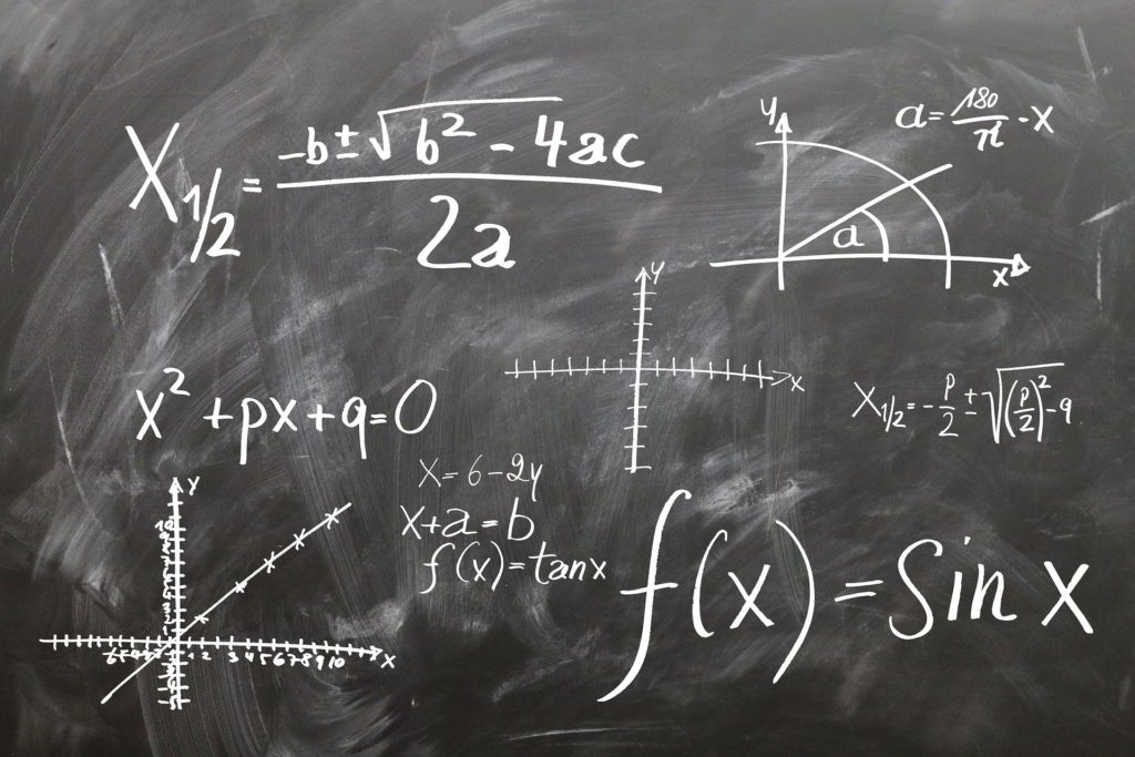 プラスとマイナスがある計算式-心の傾向のイメージ