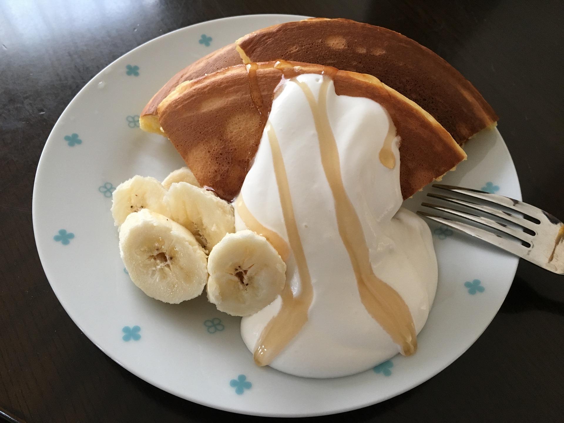 ホットケーキ-お菓子作り