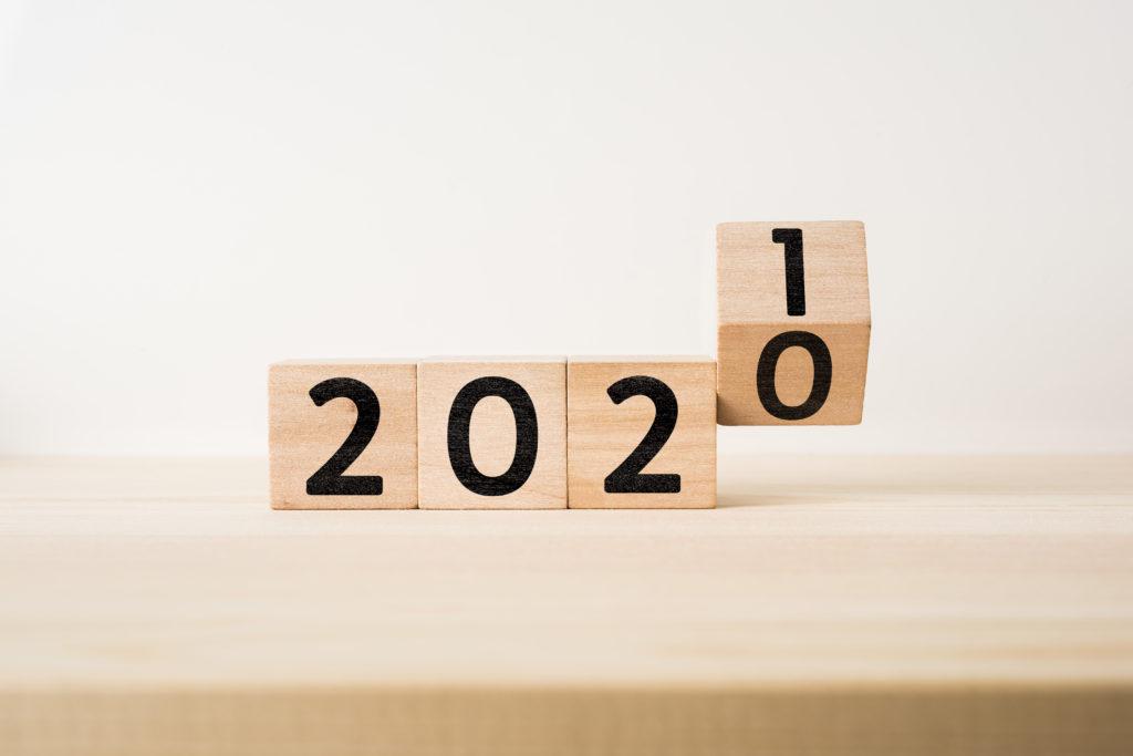 2020年-2021年移り変わり-ブロックカレンダー